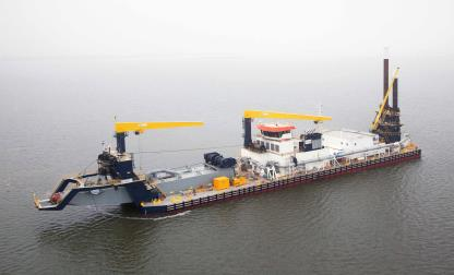 IHC MERWEDE CUTTER SUCTION DREDGER 'QUIBÍAN'