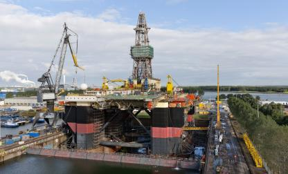SCARABEO 6 OIL DRILLING RIG