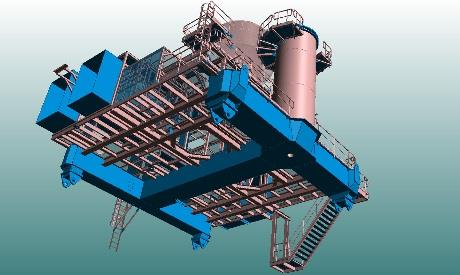Van Aalst Cement Unloading Platform