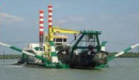 IHC MERWEDE CUTTER SUCTION DREDGER 'INAI DALIMA'