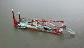 IHC MERWEDE CUTTER SUCTION DREDGER 'SINOHYDRO'